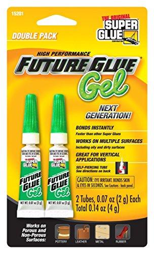 Super Glue - High Performance Future Glue - Gel - 2 Pack