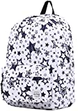 Classic Womens College School Travel Backpacks Book Bag - Stars