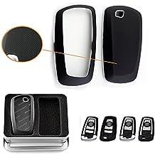 Keyless Smart Key Fob Matte Black Shell Cover Case for BMW 1 3 4 5 6 series X3 M5 M6 GT3 GT5