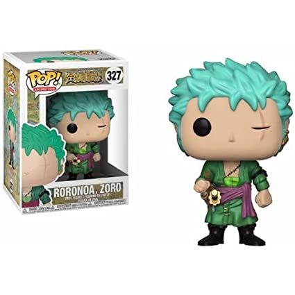 3edd6b66cd4 Image Unavailable. Image not available for. Color  Funko Pop! Anime   Onepiece - Zoro Collectible Toy