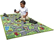 Kids Carpet Playmat City Life Extra Large Learn Have Fun Safe, Children's Educational, Road Traffic System