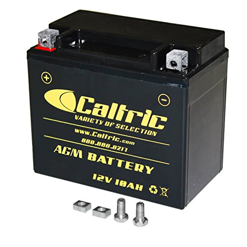 CALTRIC AGM BATTERY Fits KAWASAKI KLE650 KLE-650 VERSYS 650 2007-2014