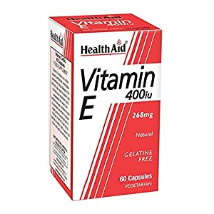 HealthAid Vitamin E 400iu Natural 60vegicaps