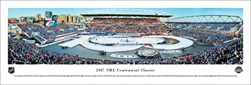 Nhl Club Collection (NHL 2017 Centennial Classic (Maple Leafs vs Red Wings) - Blakeway Panoramas Unframed NHL Posters)
