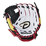 "Wilson A200 10"" Arizona Diamondbacks Glove Right Hand Throw, Maroon/Black"