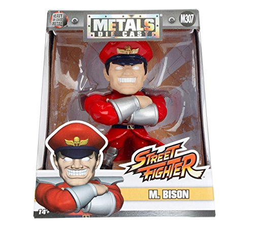 "JADA 4"" METALS - STREET FIGHTER - M. BISON (M307) 98063 for sale  Delivered anywhere in USA"