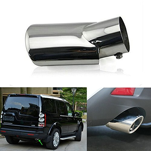 2010-2015 for Land Rover LR4 Discovery 4 End Tip Pipes Exhaust Pipe Muffler Stainless Steel 2pcs