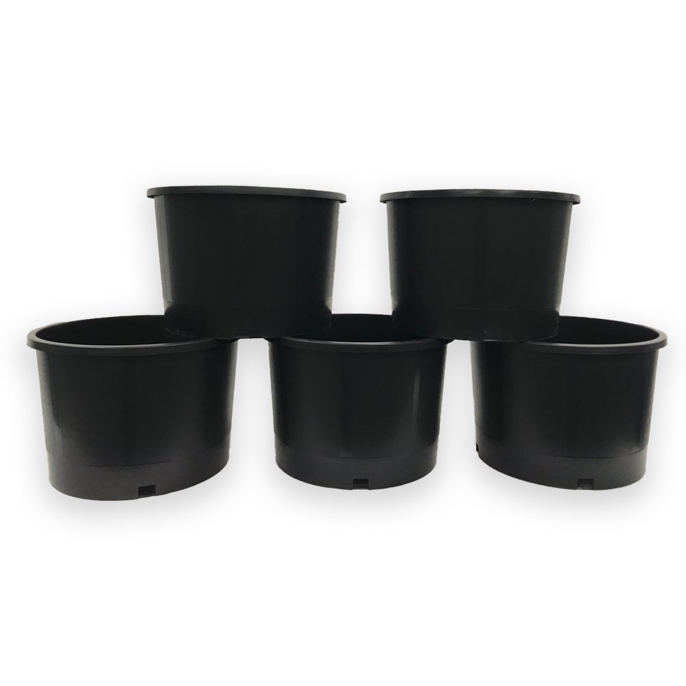 Amazon.com: viagrow Heavy Duty Ronda Nursery Pots: Jardín y ...