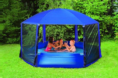 Wehncke Pavillon Pool, Ø 260 cm (12816): Amazon.de: Garten