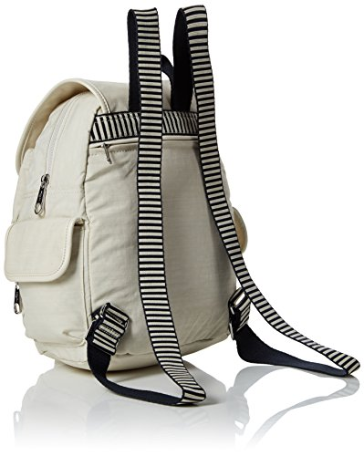 Kipling Backpack Dazz White Pack Womens Cream C S City AnwxZAz