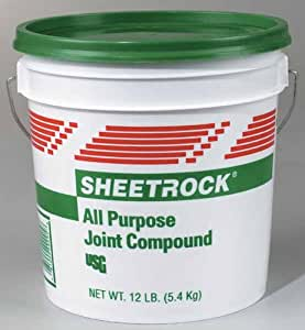 Sheetrock all purpose joint compound ready mixed 12 lb for Bathroom joint compound