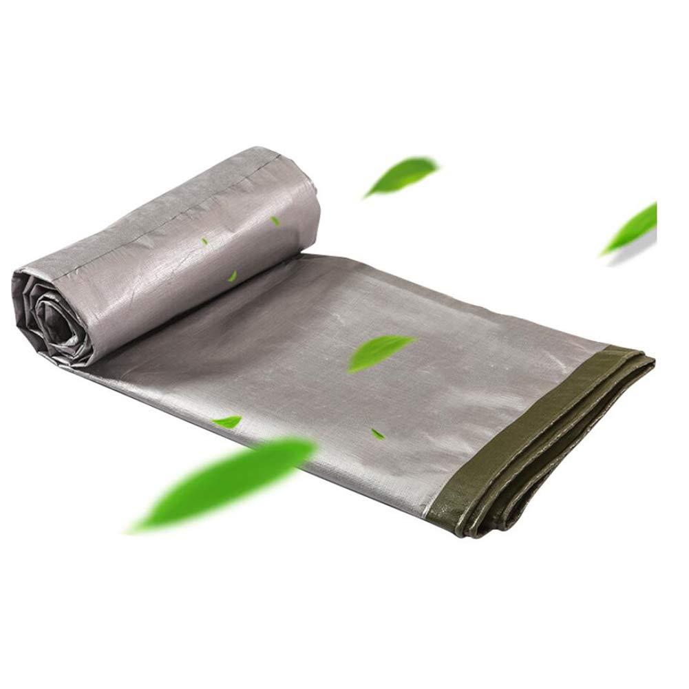 JNYZQ Große doppelseitige Wasserdichte Plane-Bodenblech-Abdeckungen für hohe Beanspruchungen Schuppenstoff Regendach Winddichtes Zelt Splice (größe   5×8m)