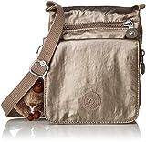 Kipling El Dorado Crossbody, Essential Travel Bag, Metallic Pewter