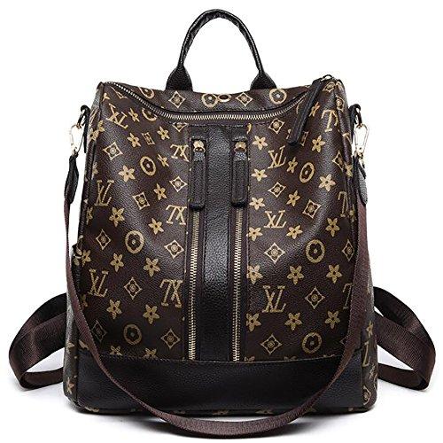 mode femmes des multifonctionnel 15 souple dos 33cm PU sac main de sac sac à 30 à cuir en décontracté Le wIxEBPq5F