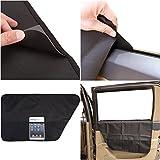 Mogoko Pet Car Interior Door Cover,Universal Vehicles Door Protector Shield From Dog Cat Scratches,Anti Slip & WaterProof Auto Side Pocket[2 Pack]