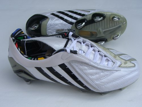 adidas , Chaussures de foot pour homme Weiss-Schwarz 39 1/3