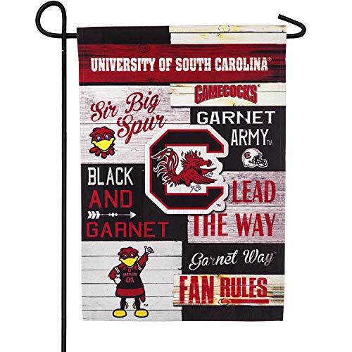 Team Sports America University of South Carolina, Linen Fan Rules Garden Flag ()