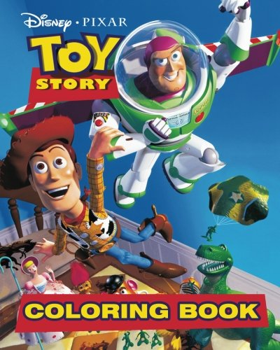 - Disney Pixar Toy Story Coloring Book: Coloring Book for Kids