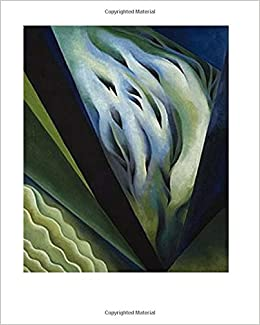 georgia okeeffe journal blue green music 1921