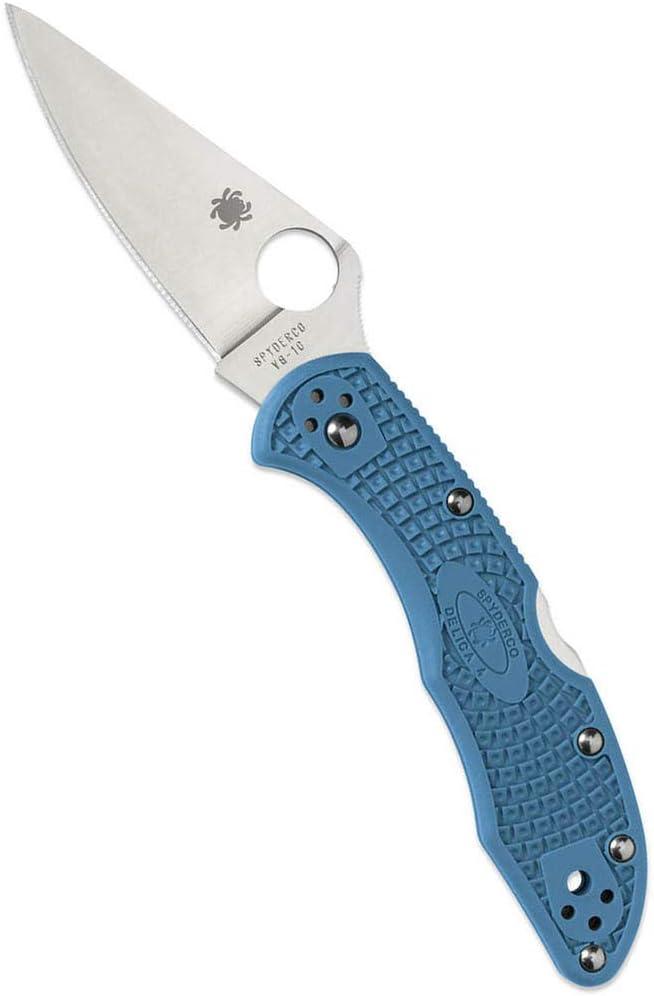 9. Spyderco Delica 4 C11FPBL Knife