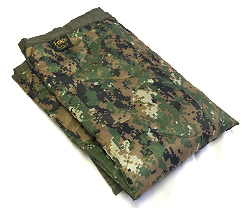 HSD Mini Woobie Military Style Poncho Liner Kids Baby Blanket (MARPAT Digital Woodlands, Baby) ()