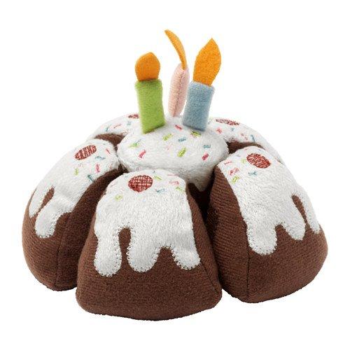 Birthday Cake Play Food Pull Apart Soft Toy DUKTIG by (Cake Plush)