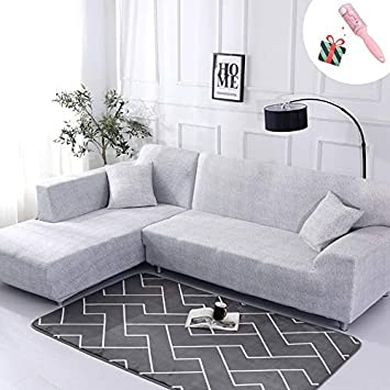 Amazon De Elastisch Sofa Uberwurfe Sofabezug Morbuy Ecksofa L