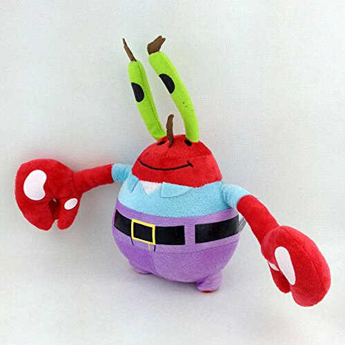 TONGROU Mr. Eugene H. Krabs SpongeBob Squarepants Crab Soft Plush Toy Stuffed Animal 8