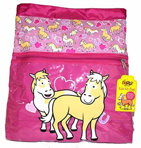 Bugzz - bolsa de deporte para niña - Pony -design 37cm x 41cm