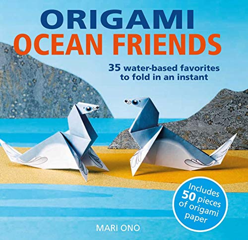 Favorite Book Whales (Origami Ocean Friends: 35 water-based favorites to fold in an instant: includes 50 pieces of origami paper)