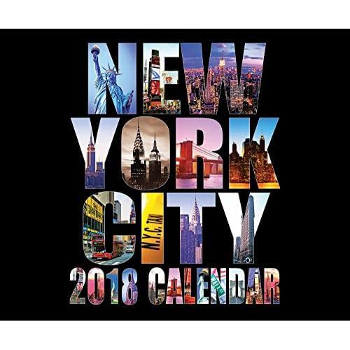"Hot 2018 Large Color New York City 20 Month Calendar NYC Color Photos NY Landmarks Calendar - 13"" X 11"" supplier"
