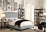 Millbury Home Chavelle Upholstery Platform Bed, Gray