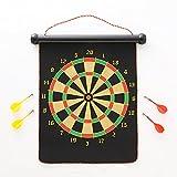 Ezyoutdoor Dart Game Set with 4 Darts and Board Dart Board Backboard for Dartboard Game Room size 12