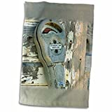 3dRose Danita Delimont - Antiques - Antique parking meter, Palm Beach, Florida - US10 AJE0226 - Adam Jones - 12x18 Towel (twl_89014_1)