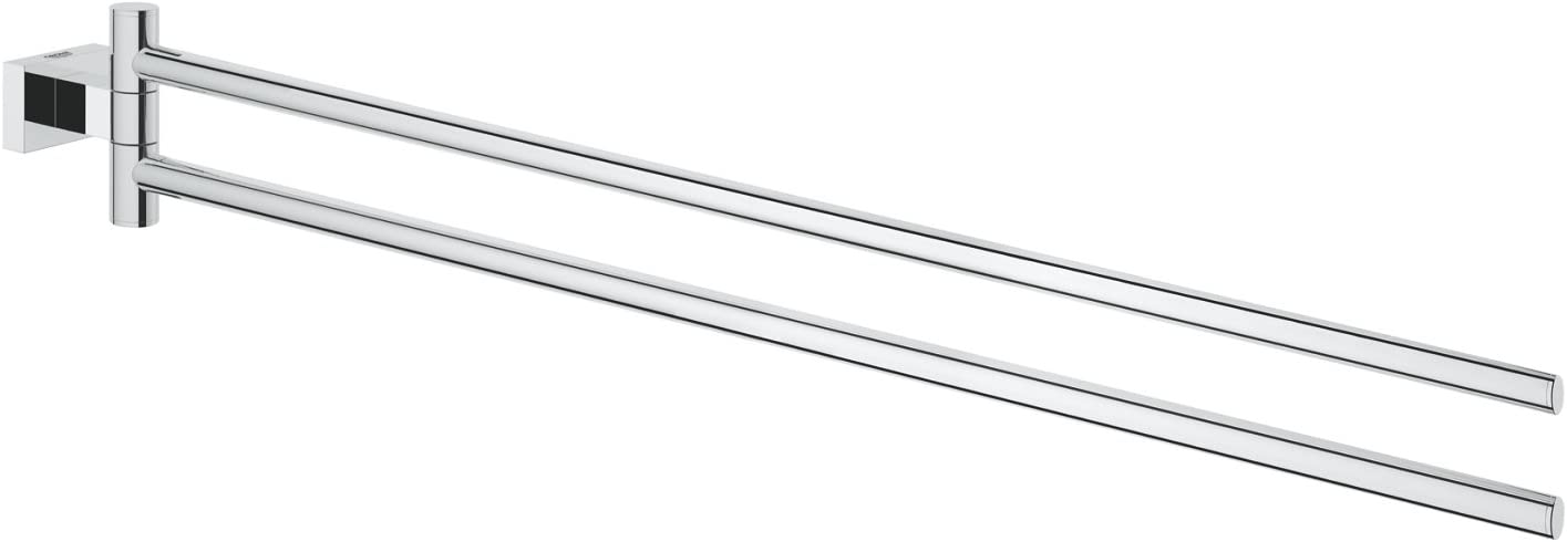 Essentials Cube 18 In. Double Towel Bar