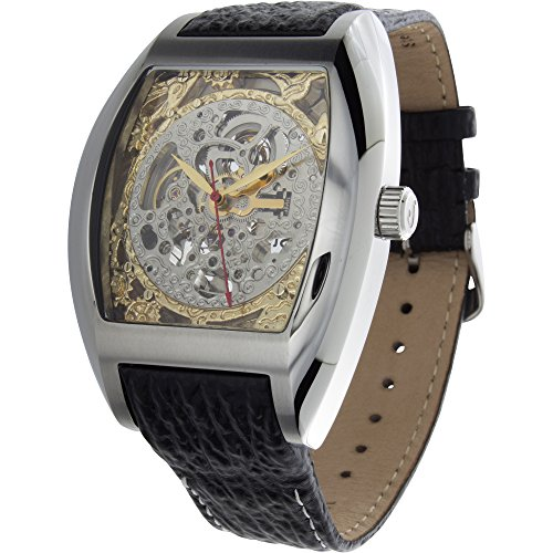 1302SGSL Beethoven's 2nd Analog Display Automatic Self Wind Black Watch ()