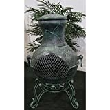 Etruscan Style Chiminea Finish: Antique Green