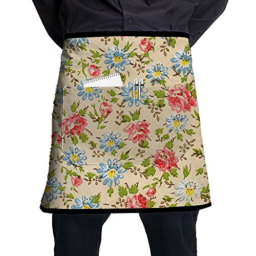 Bing4Bing Unisex Sunflower Blossom Blossom 100% Polyester Durable Comfortable Kitchen Chef Aprons For Women And Men