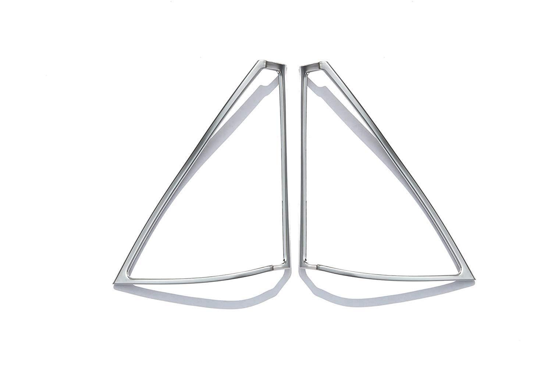 Interior Auto Vehicle Accessory, for Mercedes-Benz C Class W204 C180 C200 C260 2008-2014, Door Speaker Frame Cover Trim ABS Plastic Silver, 2 pcs/set