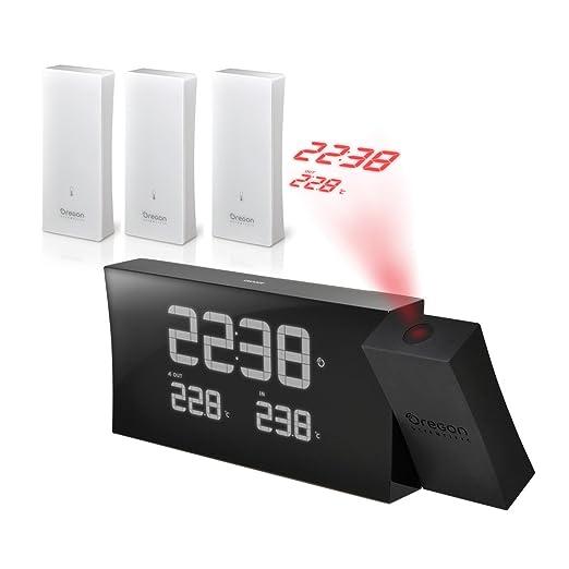 Oregon Scientific-Reloj despertador con proyector, diseño con ...