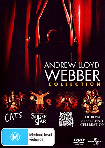 Andrew Lloyd Webber - Collection (Cats + Jesus Christ Superstar + Joseph And The Amazing Technicolor Dreamcoat + The Royal Albert Hall Celebration) Dv