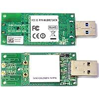 SparkLAN WUBM-273ACN(MU) / 802.11ac/b/g/n 2x2 MIMO / USB Type A