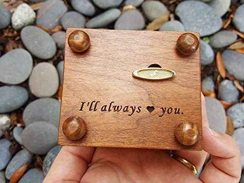 Custom made music box with Mom engraved on top, with your choice of color and song, great gift for Mother's day or birthday gift for mom by Simplycoolgifts (Image #3)