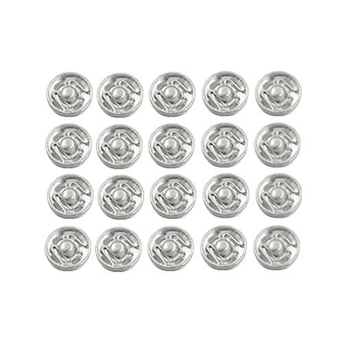 Sew Button Coat - Metal Coat Clothes Sewing Invisible Clip Buttons 20 Pcs