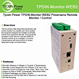 Tycon Power Systems - TPDIN-MONITOR-WEB2 - PowerSens Web Remote Monitor Control