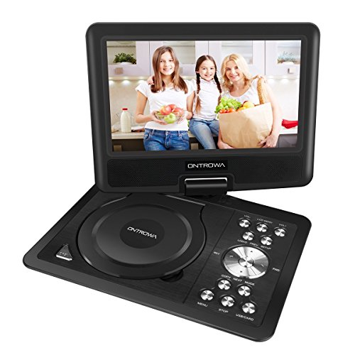 "11.5"" Swivel Screen Portable DVD Player with 5 Hour Built-In"