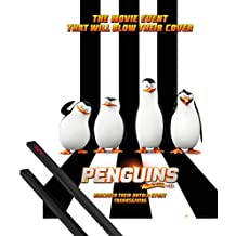 1art1 Poster + Hanger: The Penguins of Madagascar Mini Poster (20x16 inches) One Sheet and 1 Set of Black Poster Hangers