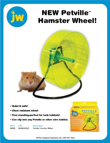 JW Pet Company Petville Hamster Wheel by JW Pet (Image #2)