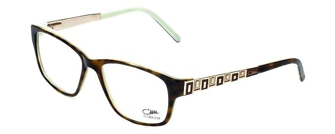 Amazon.com: Cazal Diseñador anteojos 3037 – 003 en tortuga ...