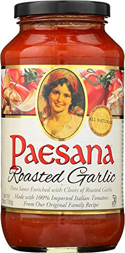 Paesana (NOT A CASE) Roasted Garlic Sauce ()